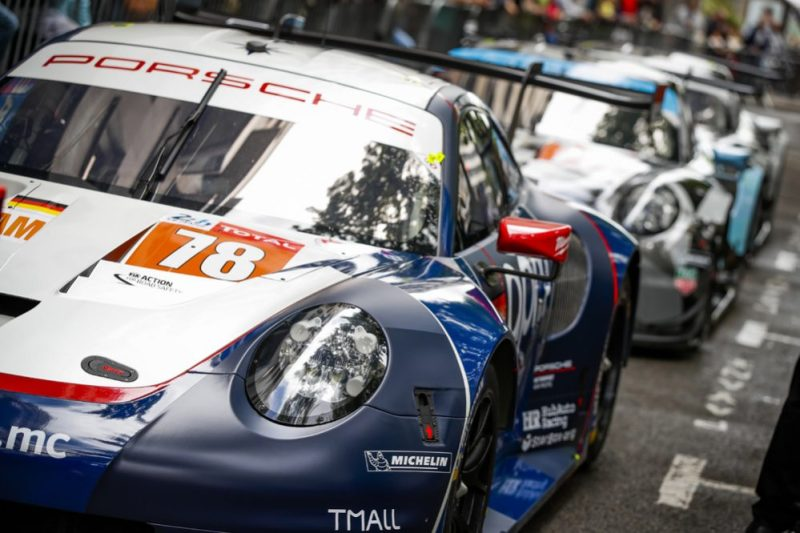 Porsche 911 RSR, Proton Competition (78), Louis Prette (I), Philippe Prette (I), Vincent Abril (F)