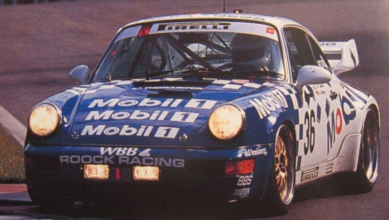 1993 24H Spa - Roock Racing Porsche - Jarrier - Fittipaldi - Alzen