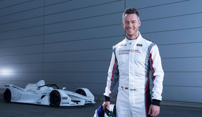 André Lotterer, Porsche Formula E Team