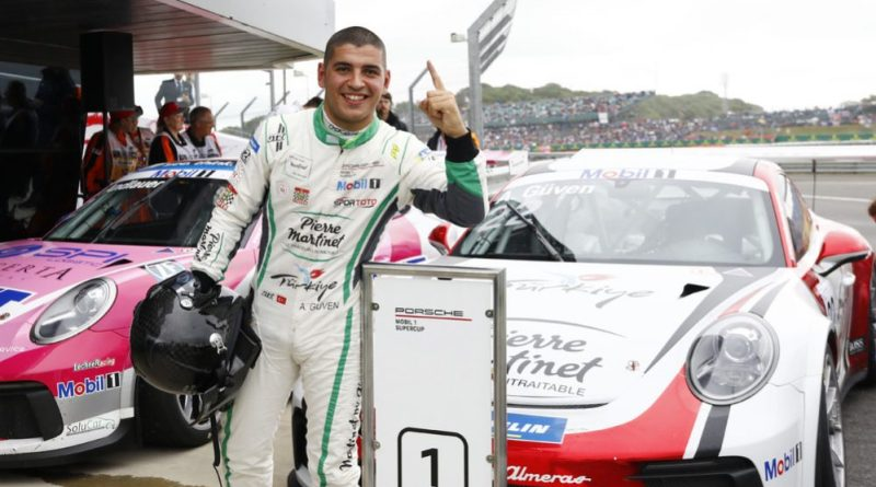 Ayhancan Güven celebrates his first Supercup win in Silverstone