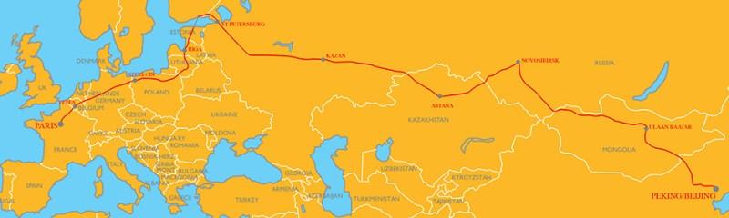 Peking to Paris Rallye 2019 - the Itinerary