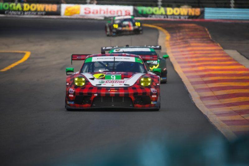 Porsche 911 GT3 R (9), Pfaff Motorsports- Scott Hargrove, Zacharie Robichon, Lars Kern