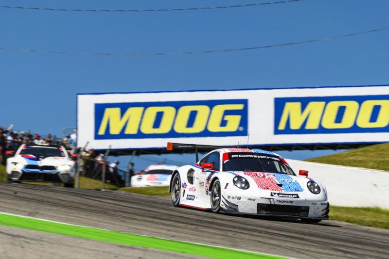 Porsche 911 RSR (912), Porsche GT Team- Earl Bamber (NZ), Laurens Vanthoor (B) : 5th straight win in IMSA Bowmanville Canada