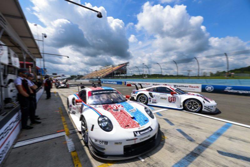 Porsche 911 RSR, Porsche GT Team (912), Earl Bamber (NZ), Laurens Vanthoor (B), Porsche GT Team (911), Patrick Pilet (F), Nick Tandy (GB)