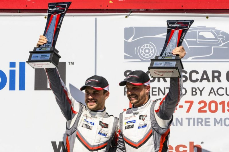 Porsche GT Team- Laurens Vanthoor (B), Earl Bamber (NZ)