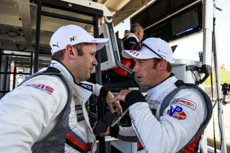 Porsche GT Team- Nick Tandy (GB), Patrick Pilet (F)