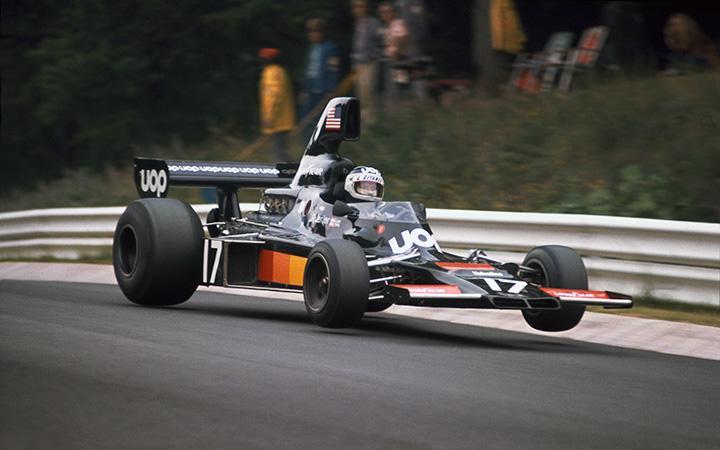 Jean-Pierre Jarier , Shadow DN5 ,1975 GP Nurburgring