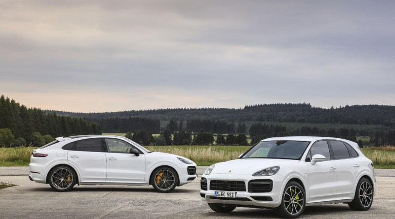 Cayenne Turbo S E-Hybrid and Cayenne Turbo S E-Hybrid Coupé