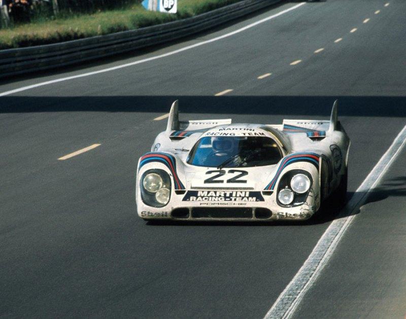 Helmut Marko - Gijs van Lennep win the 1971 Le Mans 24H in a Porsche 917