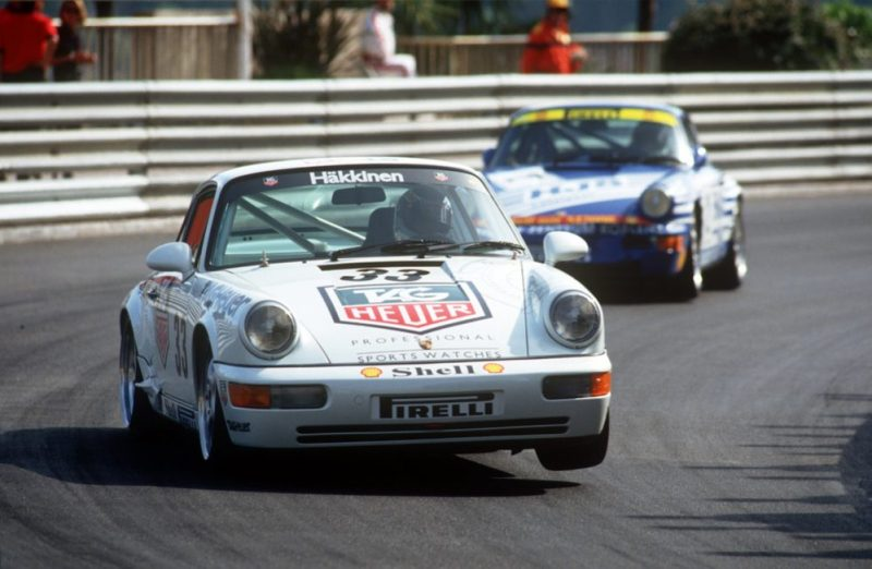 Porsche 911 Carrera 2 Cup at the Supercup in Monaco 1993