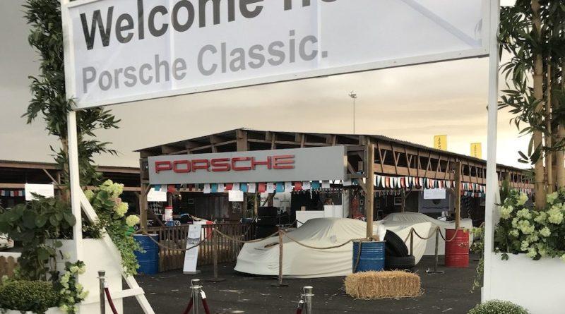 Porsche Classic Village at the Zandvoort Historic GP