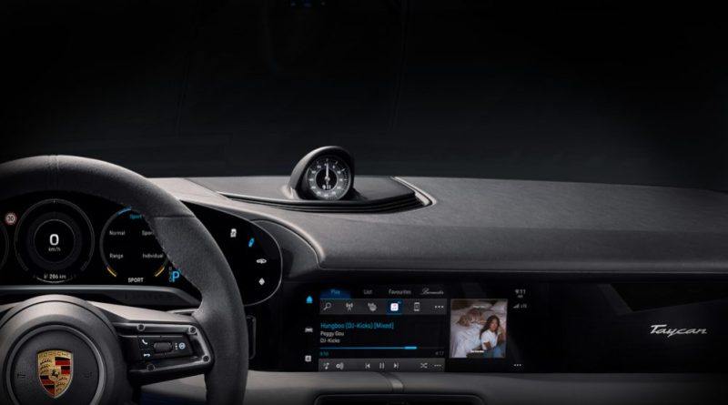 The Porsche Taycan will have the first-ever full integration of Apple Music in any vehicle. (Image Courtesy of !K7 Music)