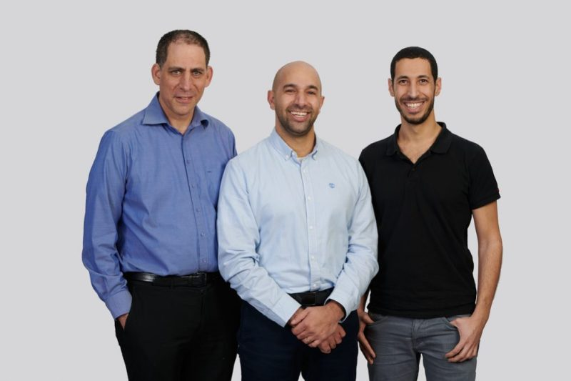 TriEye founder Uriel Levy, Avi Bakal and Omer Kapach (left to right)
