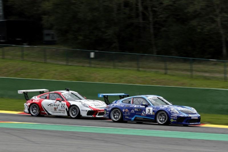 Porsche 911 GT3 Cup, Dylan Pereira (L), Ayhancan Güven (TR), Porsche Mobil 1 Supercup, Spa-Francorchamps 2019