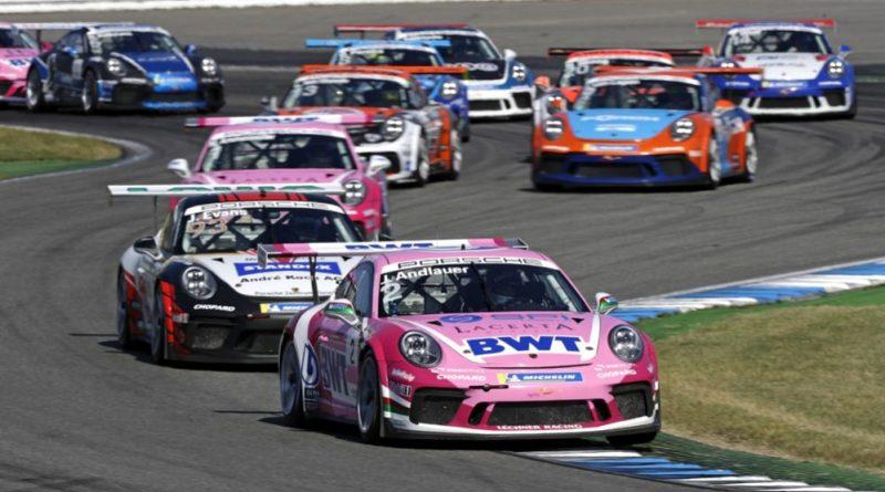 Porsche 911 GT3 Cup, Julien Andlauer (F), Porsche Carrera Cup Deutschland, Hockenheimring 2 - 2019