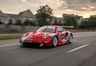 Highlight at season final of the IMSA Sportscar Championship : Porsche flies Coca-Cola design at Petit Le Mans