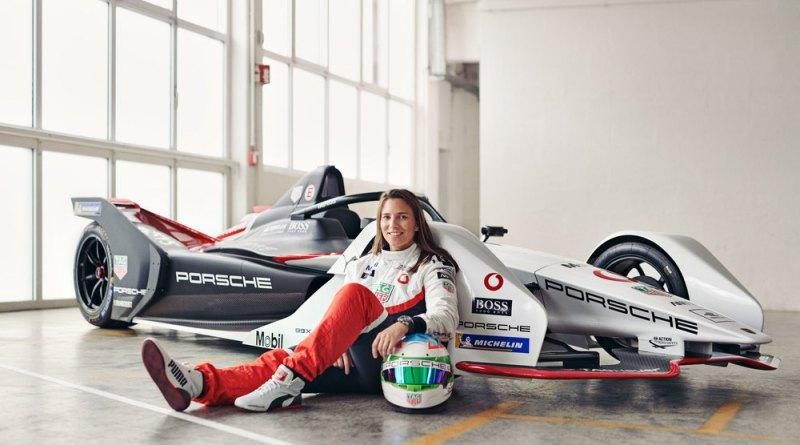 Simona De Silvestro, Porsche works driver