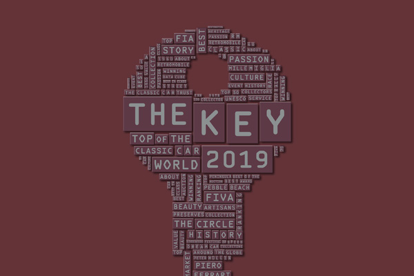 The Key 2019 - the top of the Classic Car World Book Cover