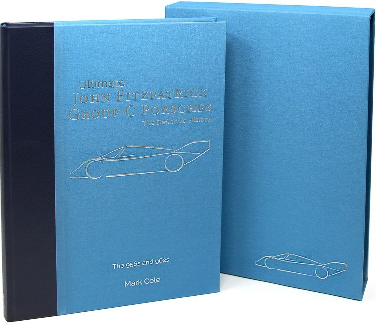 John Fitzpatrick Group C Porsches - the definitive history Book Cover
