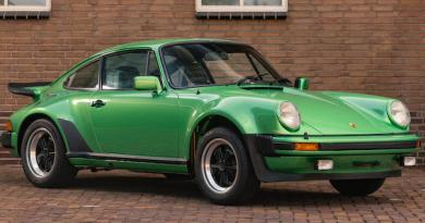 1976 Porsche 930 Turbo 30 Coupe