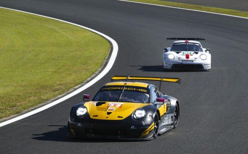 Porsche 911 RSR, Team Project 1 (57), Ben Keating (USA), Felipe Fraga (BR), Jeroen Bleekemolen (NL)