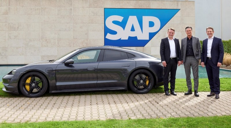 Porsche SAP partnership