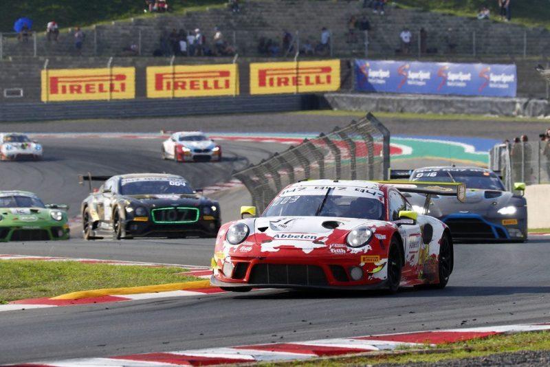 Porsche 911 GT3 R, Frikadelli Racing Team (31), Dennis Olsen (N), Mathieu Jaminet (F), Nick Tandy (GB)