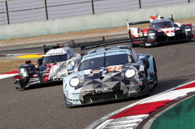 Porsche 911 RSR, Dempsey Proton Racing (77), Matt Campbell (AUS), Christian Ried (D), Ricardo Pera (I)