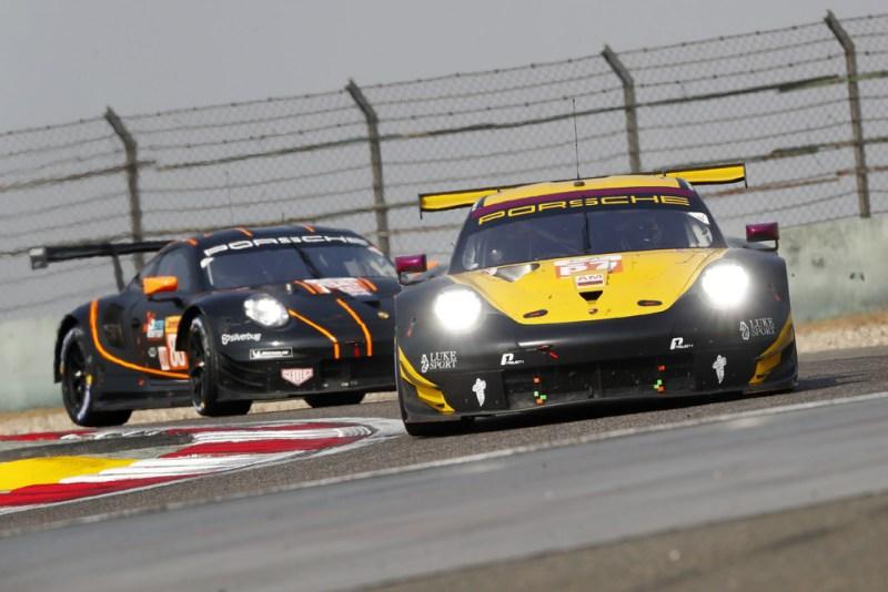 Porsche 911 RSR, Team Project 1 (57), Ben Keating (USA), Jeroen Bleekemolen (NL), Larry ten Voorde (NL)