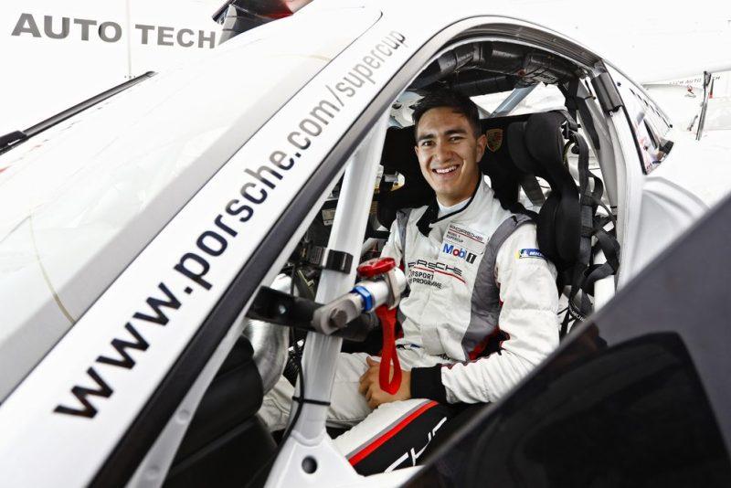 Porsche-Junior Jaxon Evans (NZ)