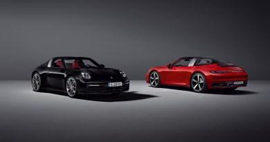 Porsche 911 Targa 4S and Porsche 911 Targa 4
