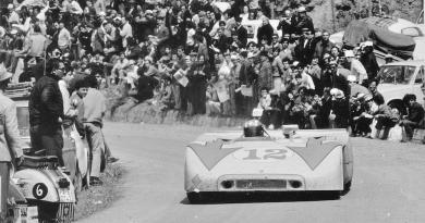 Jo Siffert and Brian Redman win the 1970 Targa Florio in Porsche 908/3 - Archives Ted Walker
