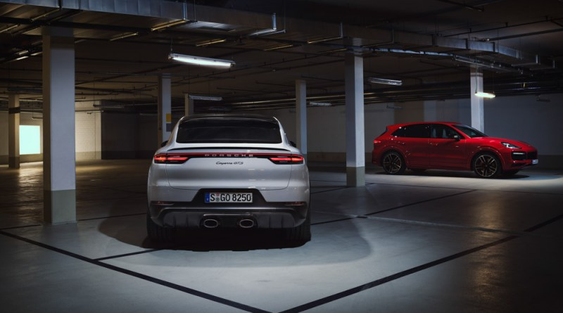 the new Porsche Cayenne GTS models
