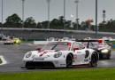 Porsche 911 RSR, Porsche GT Team (#912), Earl Bamber (NZ), Laurens Vanthoor (B) - IMSA Weathertech Sportscar Championship Daytona