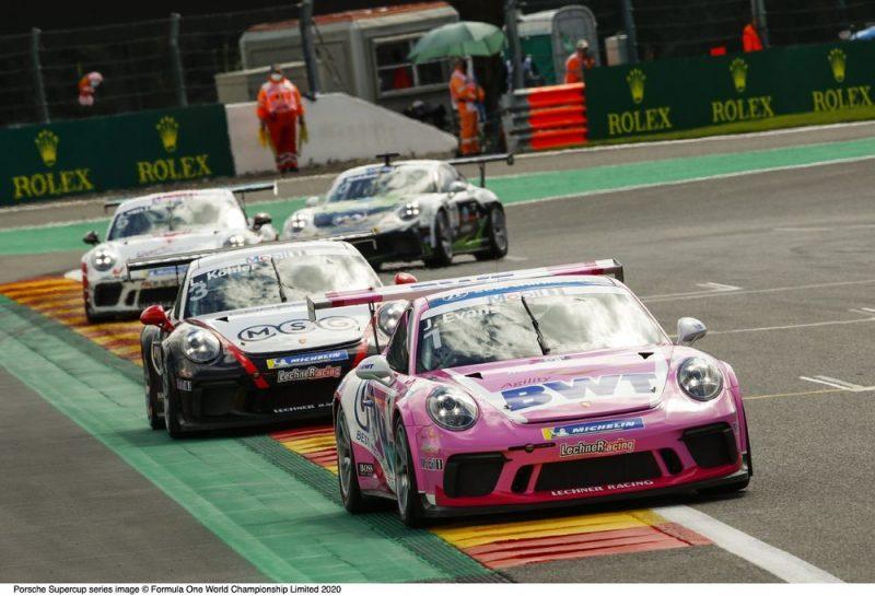 Porsche 911 aGT3 Cup, Jaxon Evans (NZ), Porsche Mobil 1 Supercup, Spa-Francorchamps 2020,