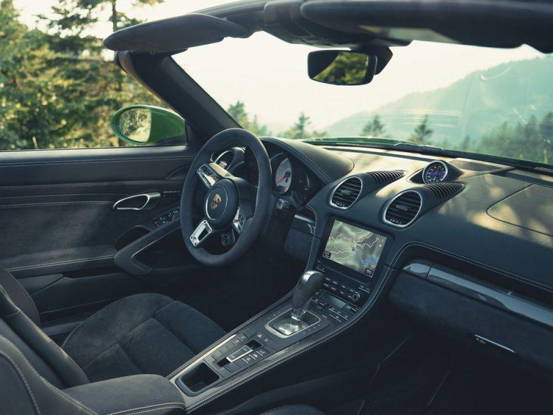 Porsche 718 Boxster GTS 4.0 - Interior