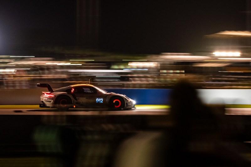 Porsche 911 RSR, Porsche GT Team (#912), Earl Bamber (NZ), Laurens Vanthoor (B), Neel Jani (CH) 2