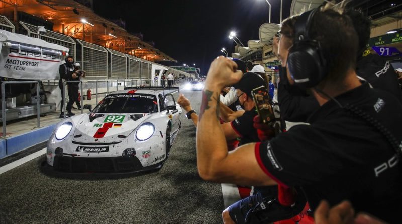 Porsche GT Team wins final season FIA WEC Bahrain