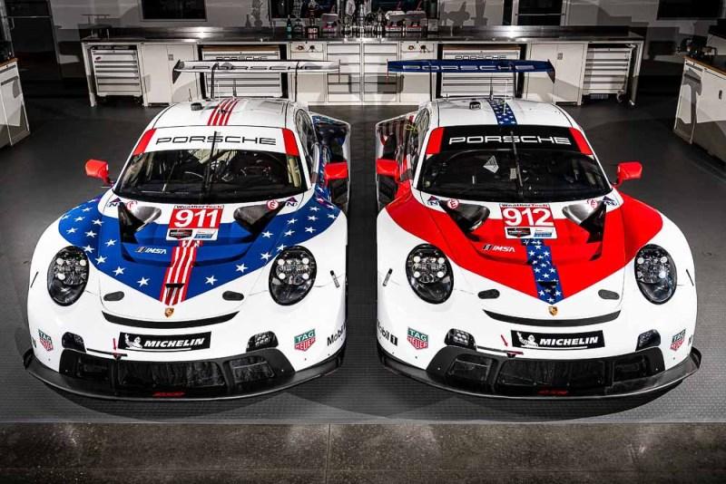 Special livery Porsches