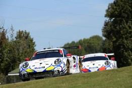 Road Atlanta 2018: The Porsche 911 RSR in Mobil 1 design