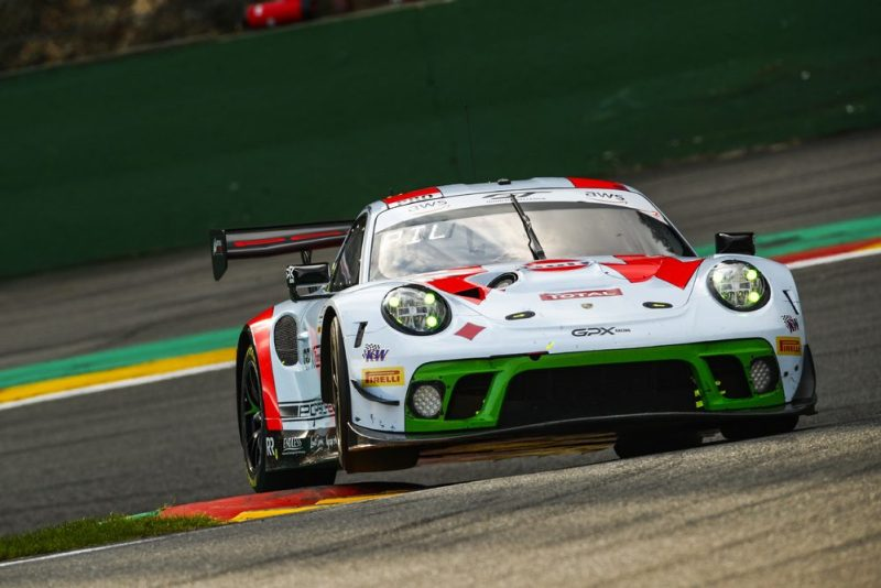 Porsche 911 GT3 R, GPX Racing (#12), Matt Campbell (AUS), Patrick Pilet (F), Mathieu Jaminet (F)