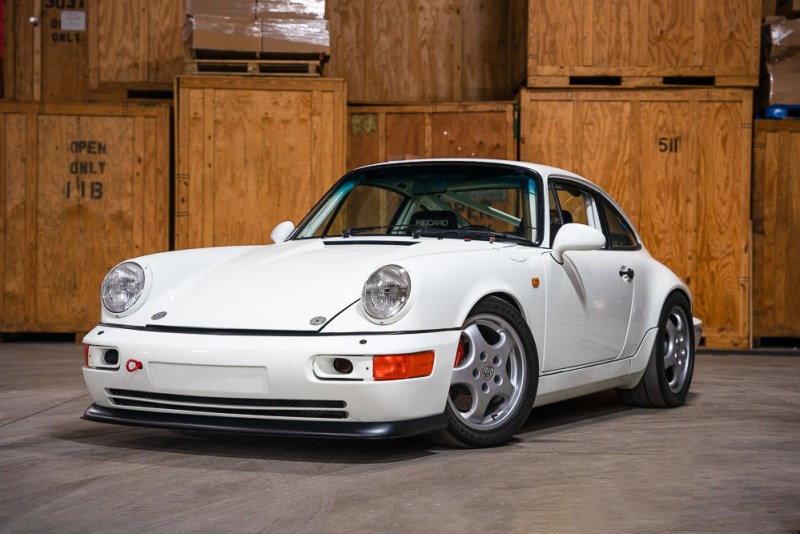 The 1992 Porsche 911 Carrera RS N/GT ( 2021 Scotsdale Auctions RM Sotheby's)
