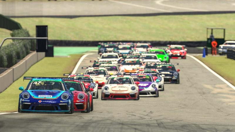Porsche 911 GT3 Cup, Alejandro Sanchez (E), #47, Porsche TAG Heuer Esports Supercup, 2021