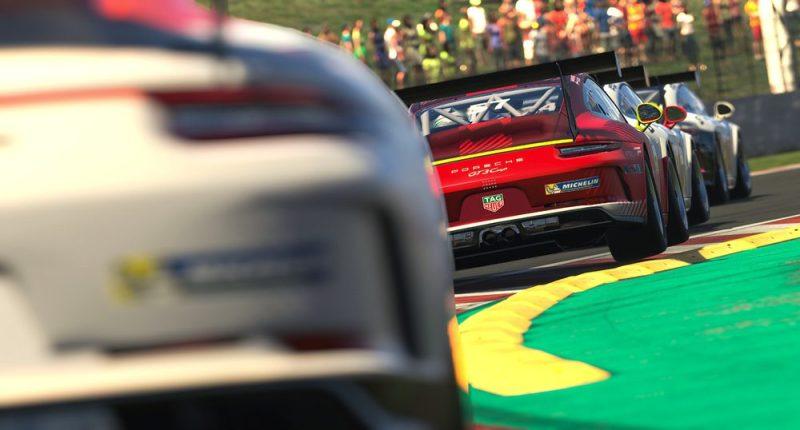 Porsche 911 GT3 Cup, Dayne Warren (AUS), #57, Porsche TAG Heuer Esports Supercup, 2021