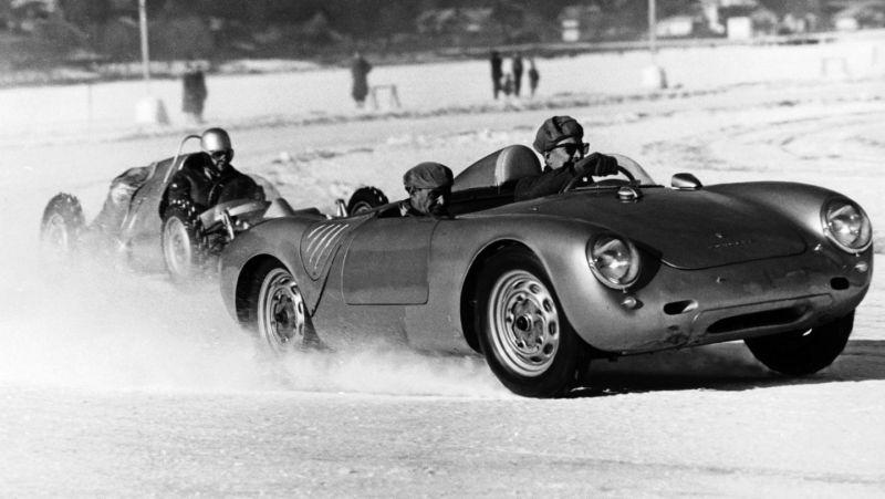 1959 Ferdinand Porsche Memorial Ice races in Zell-am-See