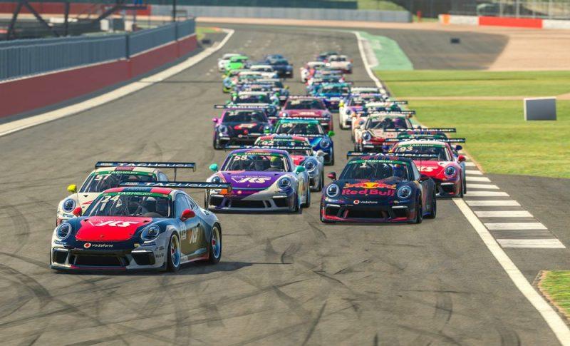 Porsche 911 GT3 Cup, Michel de Jong (USA), #24, Porsche TAG Heuer Esports Supercup, 2021