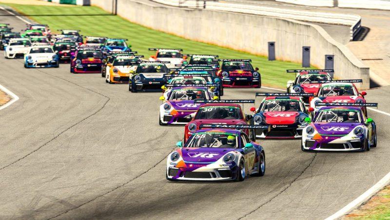 Porsche 911 GT3 Cup, Tommy Ostgaard (N), #58, Porsche TAG Heuer Esports Supercup, 2021