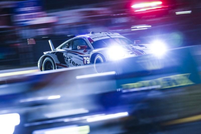 Porsche 911 RSR, WeatherTech Racing #79, Cooper MacNeil (USA), Gianmaria Bruni (I), Richard Lietz (A), Kevin Estre (F)