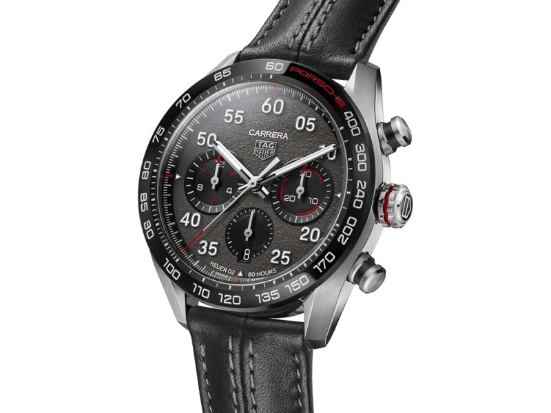 Porsche TAG Heuer Chronograph with leather strap