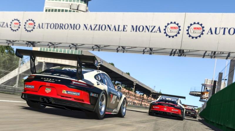 Porsche TAG Heuer Esports Supercup Champion Joshua Rogers
